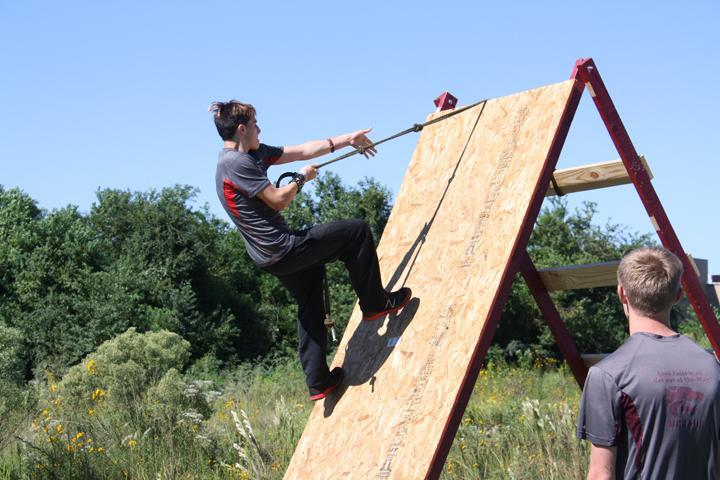 JROTC hosts ninja obstacle course to raise money