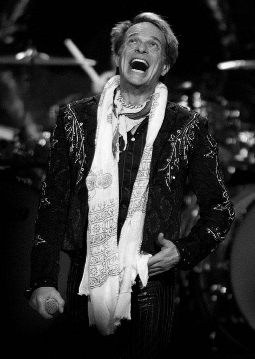 David Lee Roth of Van Halen performed at the Xcel Energy Center in St. Paul, Minnesota, on Saturday, May 19, 2012. (Marisa Wojcik/Minneapolis Star Tribune/MCT)