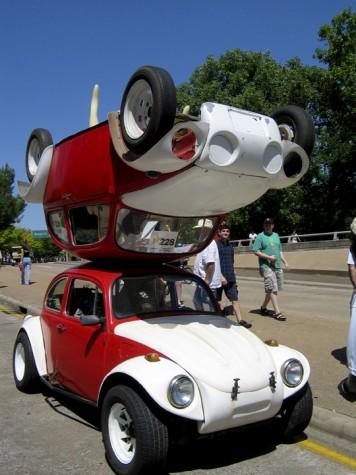 Houston Art Car Parade displays outlandish rides