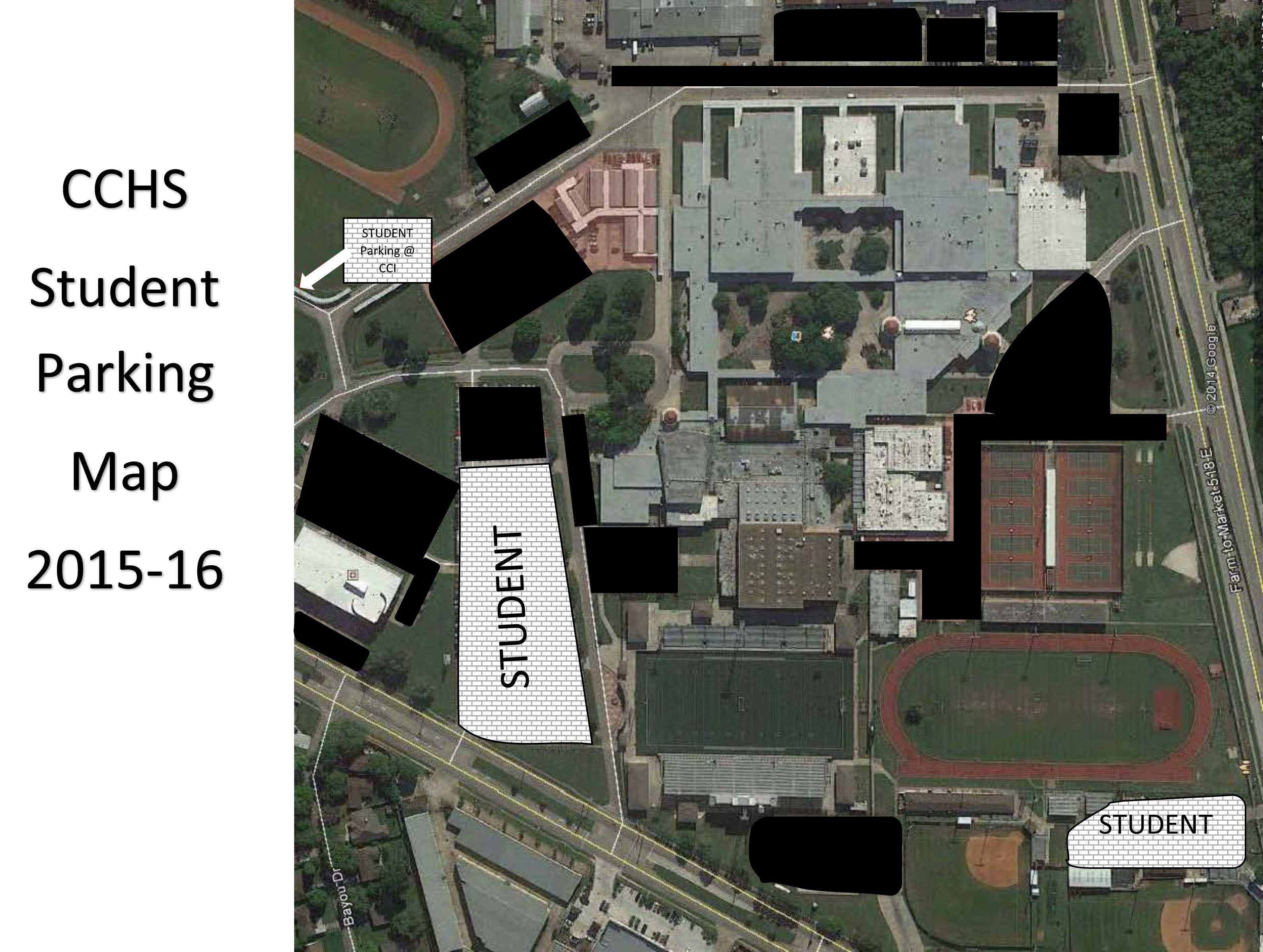 Student Parking Map