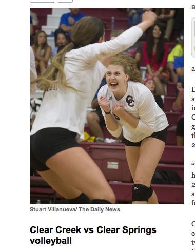 Thanks to Stuart Villanueva and the Galveston Daily News