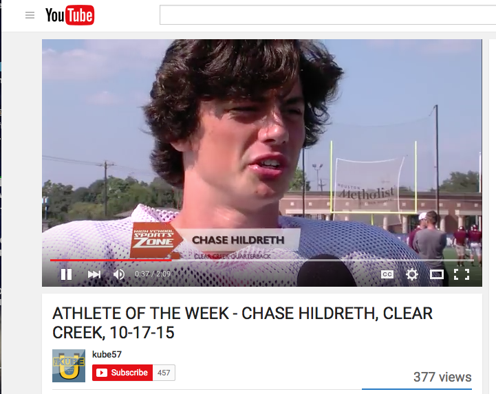 Chase+Hildreth+player+of+the+week-of+course