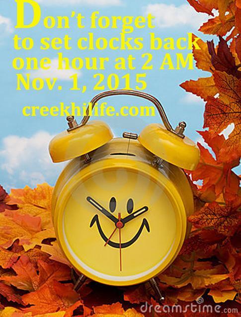 Set+your+clocks+back+at+2AM+on+Nov.+1