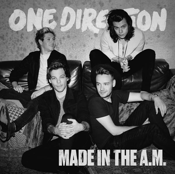 """Made in the A.M."" is One Direction's first album as a foursome. (Photo courtesy Amazon/TNS)"
