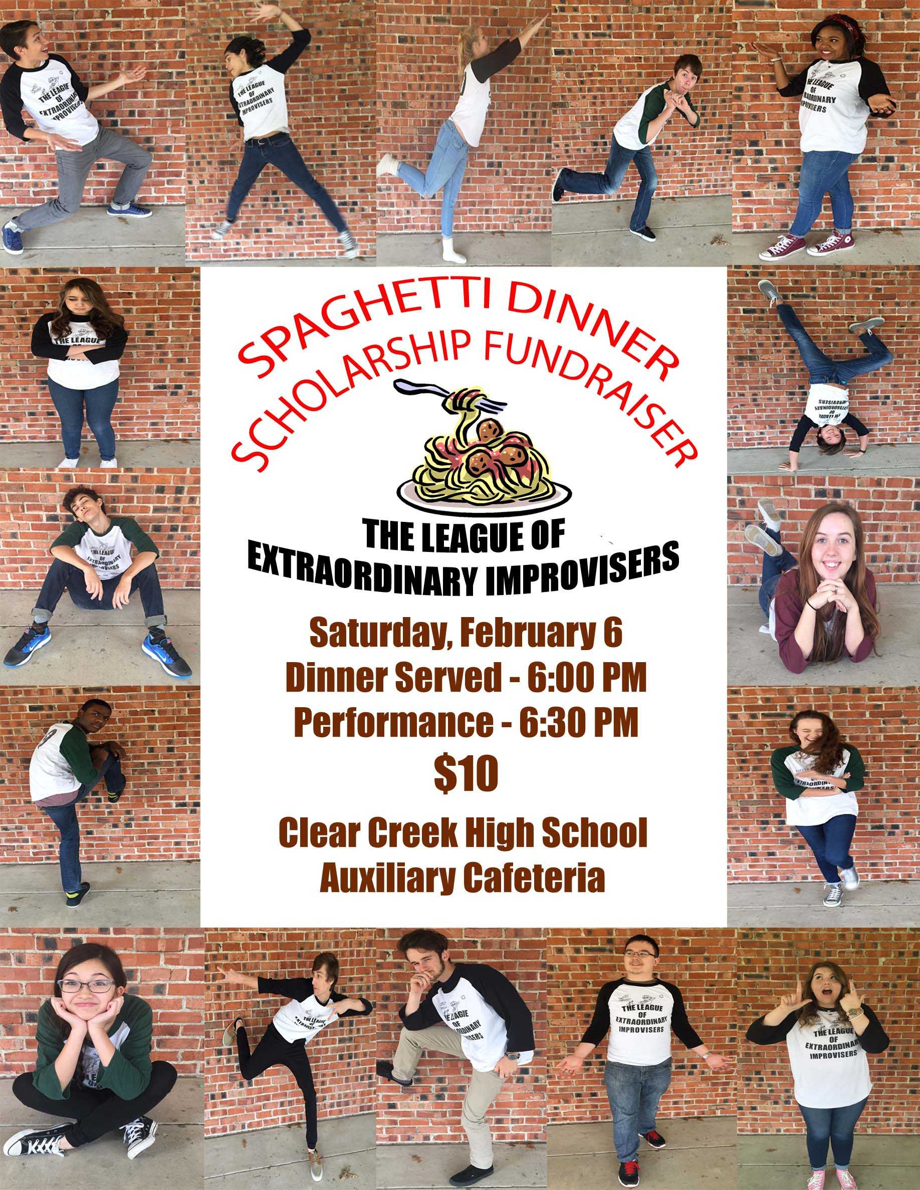 Spaghetti Dinner Poster