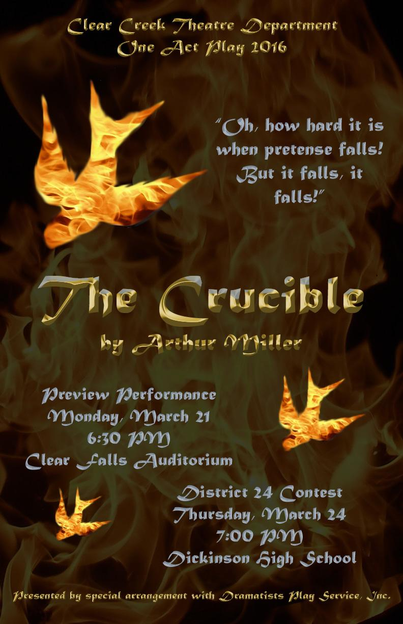The Crucible - Poster