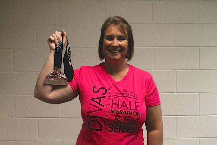 Mrs. Suzanne Saucier wins Divas Half Marathon & 5K series!