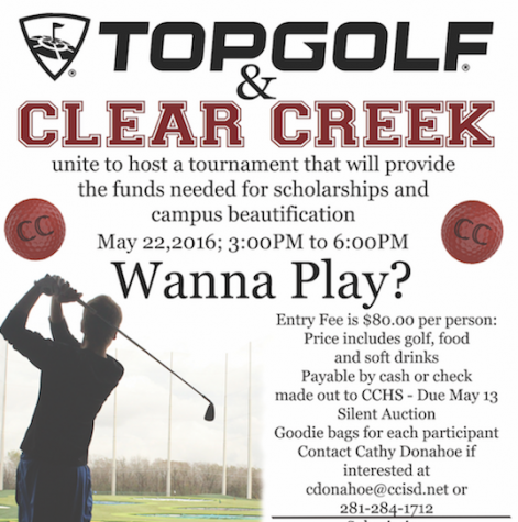 Support Scholarships and Campus Beautification while having fun at Top Golf