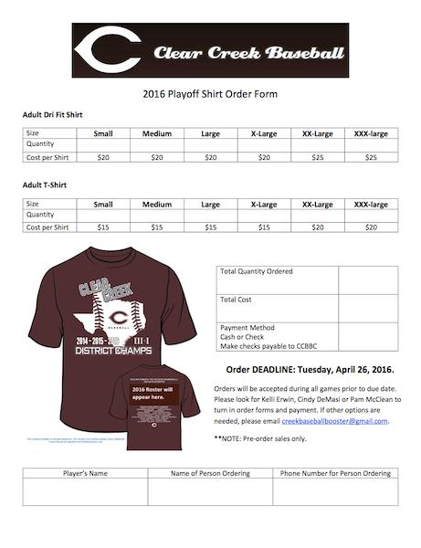 2016 Baseball Playoffs Shirts