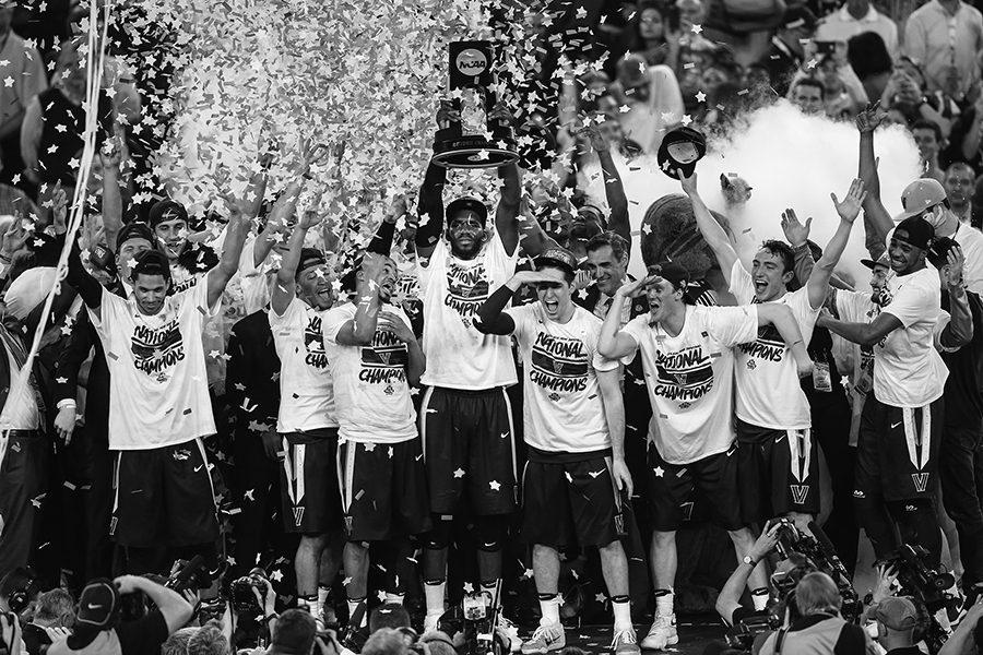Villanova beats North Carolina 77-74 to win the NCAA Championship game on Monday, April 4, 2016, at NRG Stadium in Houston. (Steven M. Falk/Philadelphia Inquirer/TNS)