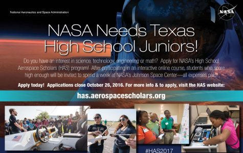 Texas High School Aerospace Scholars Opportunity