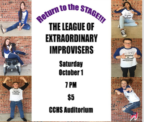Check out IMPROV in new auditorium Oct.1