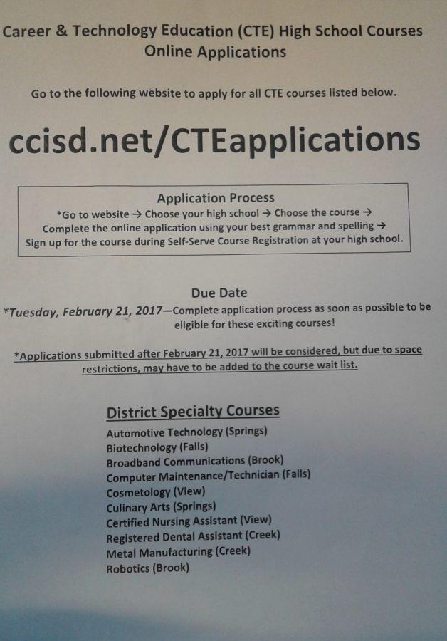 CTE Applications