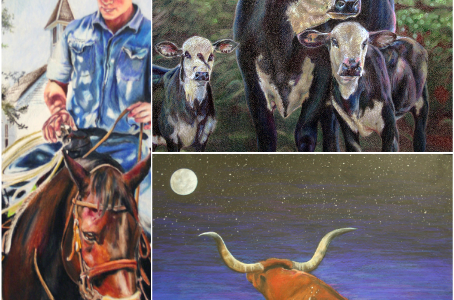 Rodeo art takes you out west