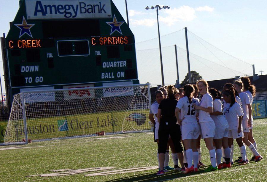 JV Girls Soccer VS. Springs