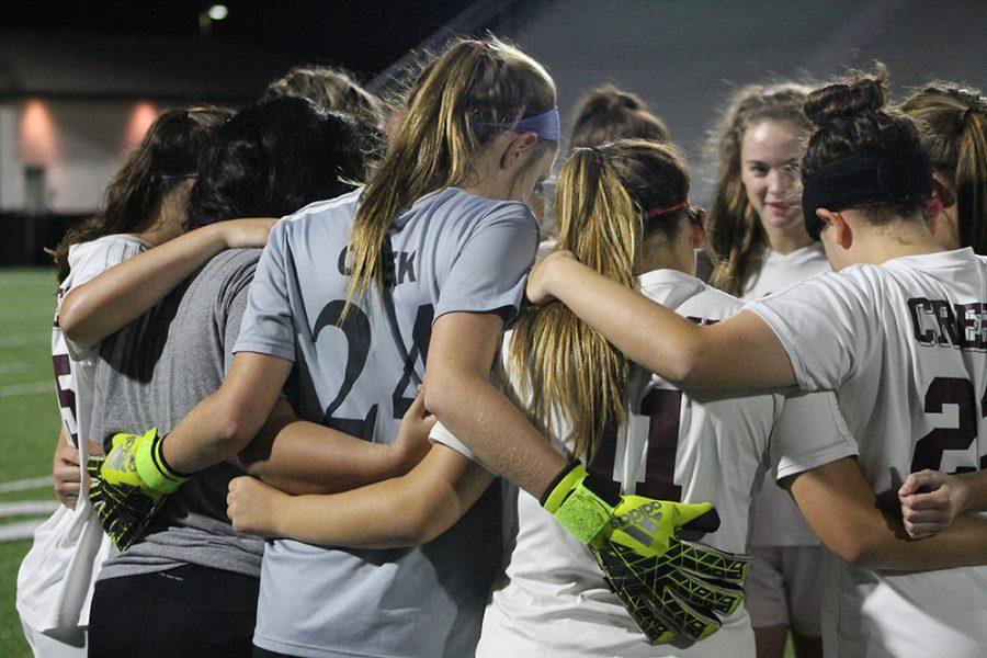 Varsity Girls Soccer VS Springs