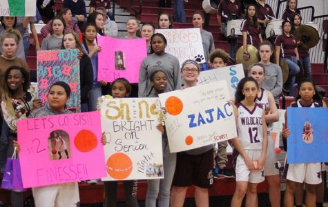 Senior Night: Varsity Girls Basketball