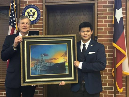 2017 CONGRESSIONAL ART COMPETITION AWARD