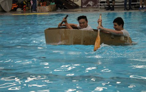 Physics Boats race in the pool