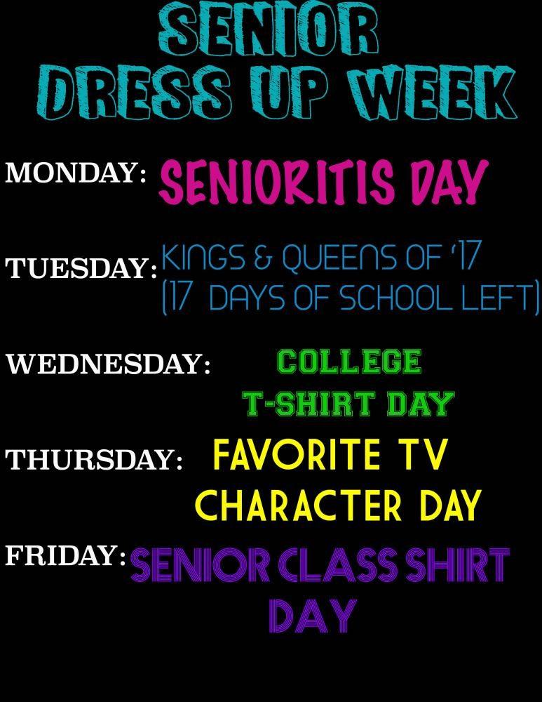 Senior+Dress+up+days+for+Prom+week