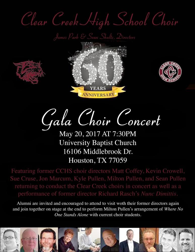 Upcoming Choir Concert moved due to high ticket sales