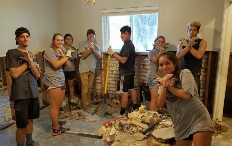 Wildcats exhibit core values during Hurricane Harvey