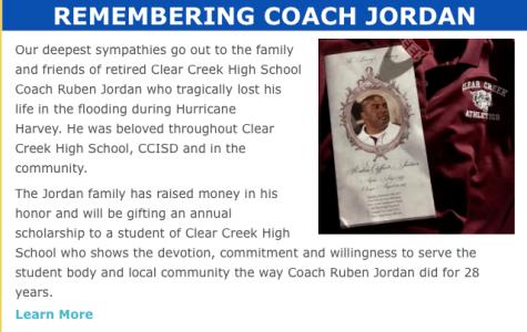 Donate to scholarship in Coach Jordan's name