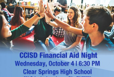 Financial Aid Night:Springs Oct. 4