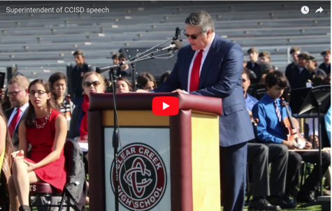 Superintendent of CCISD Speech