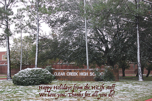 Creek HiLife wishes you the happiest of holidays