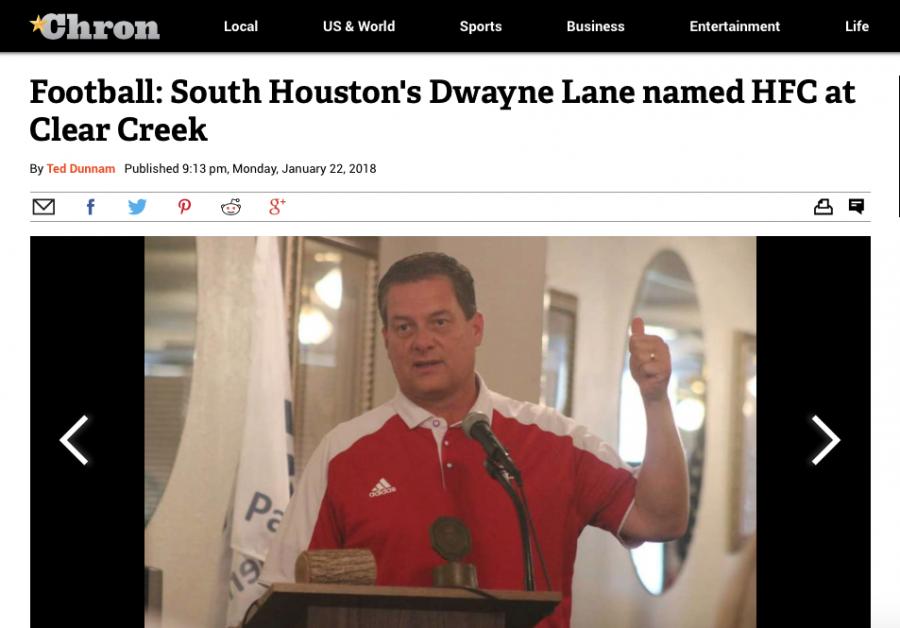 New+Creek+head+football+coach+is+Dwayne+Lane