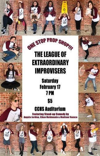 LEXI  performing annual Prop Show @ CCHS Auditorium