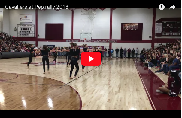 Cavaliers Performance at Pep rally