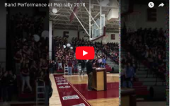 Band Performance at Spring 2018 Pep Rally