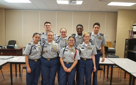 Clear Creek's JROTC program just received Honor Unit with Dstinction