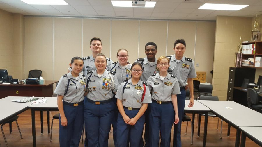 Clear+Creek%27s+JROTC+program+just+received+Honor+Unit+with+Dstinction