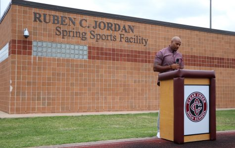 Ruben C Jordan Spring Sports Facility dedicated