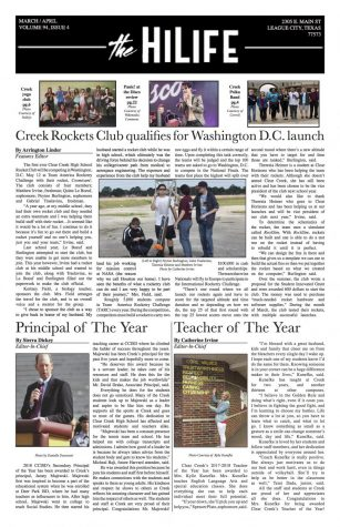 EXTRA EXTRA ! Read all about it 2018 April