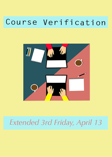 Course Verification extended third period