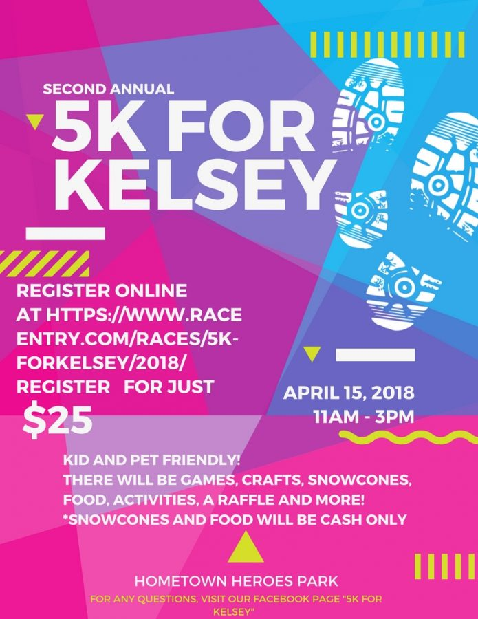 5K+Run+for+Kelsey+April+15