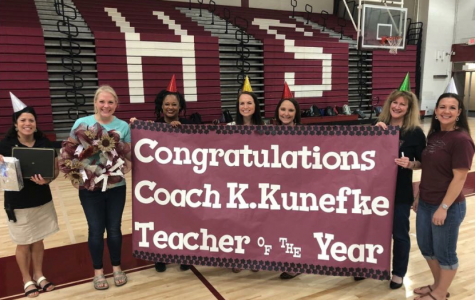 Here's to our 2018 Teacher of the Year