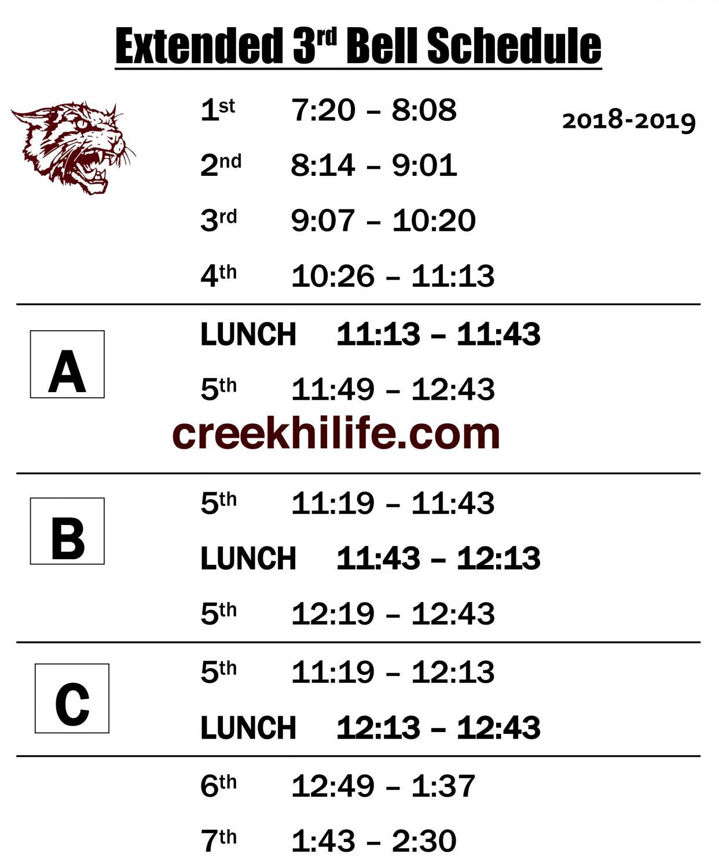 Extended third schedule