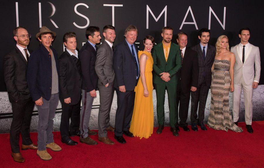 The first man cast on red carpet