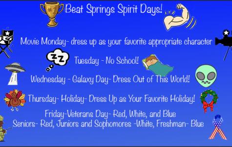 Beat Springs week and Veterans Day