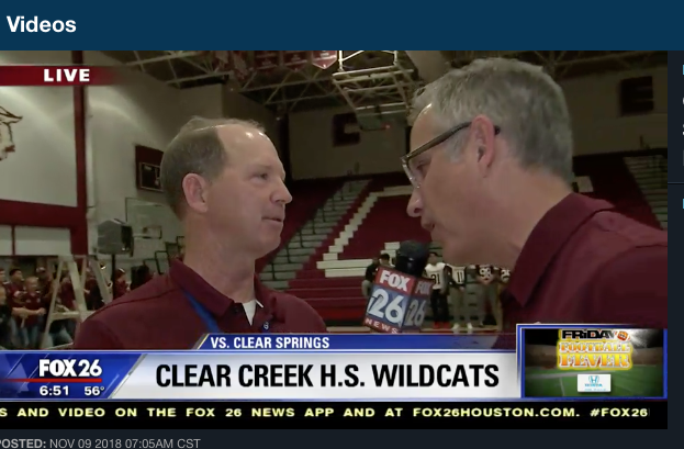 Football Fever KRIV comes to CREEK for the pep rally for the battle of 518