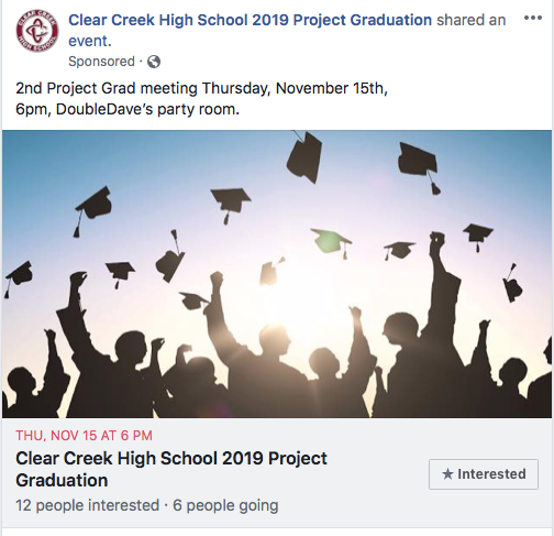 Project Grad Meeting 2019 @ Double Daves Party Room