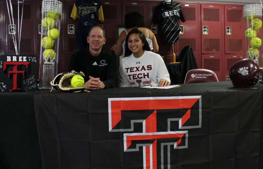 Softball player Brianna Aranzeta signs to Texas Tech