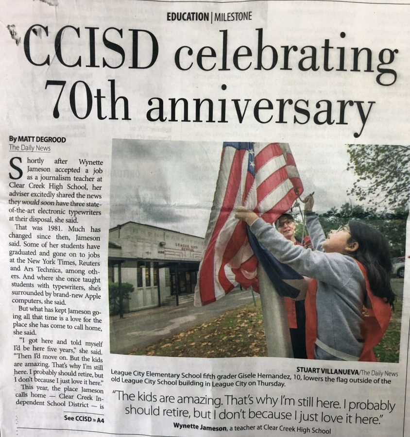 Galveston+Daily+News+celebrates+70+years+with+CCISD