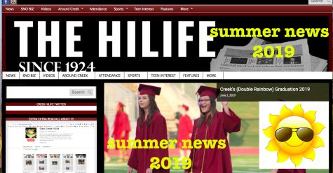 Creek HiLife summer news 2019