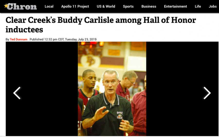 Creek+basketball+legend%2C+Buddy+Carlisle%2C+will+be+inducted+into+CCISD+Hall+of+Honor